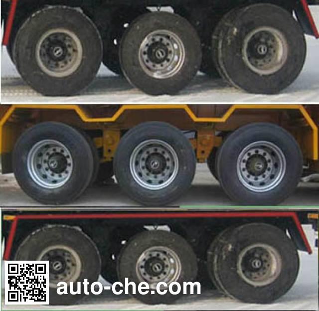 Jinxianling LTY9403ZZXP flatbed dump trailer