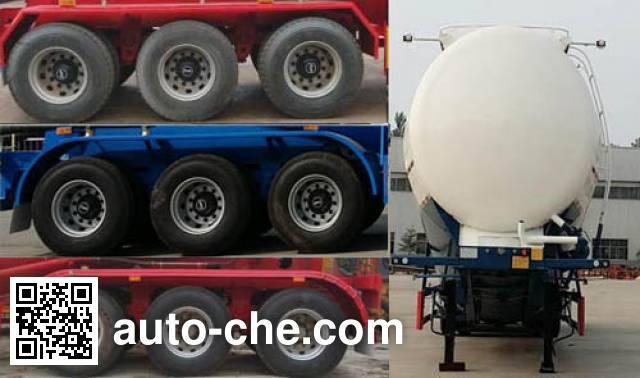 Jinxianling LTY9408GFL medium density bulk powder transport trailer