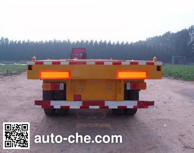 Haotong LWG9352TJZ container transport trailer