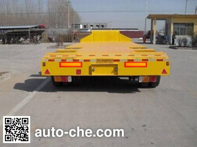 昊统牌LWG9400TDP低平板运输半挂车
