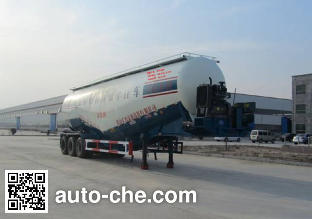 Haotong LWG9403GFL low-density bulk powder transport trailer
