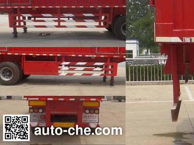 Liyuanda LWY9400XXY box body van trailer
