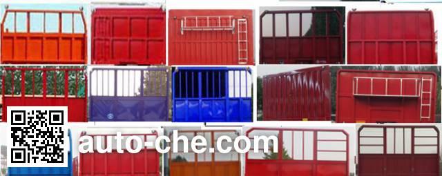 Liyuanda LWY9402ZZXP flatbed dump trailer
