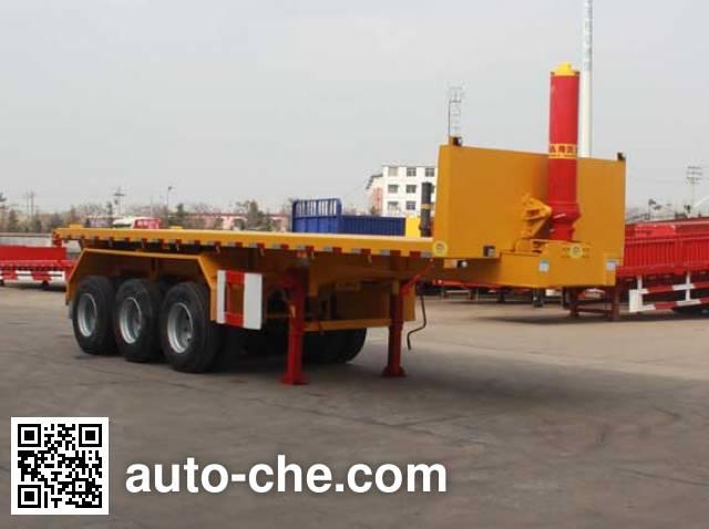 Jinwan LXQ9402ZZXP flatbed dump trailer
