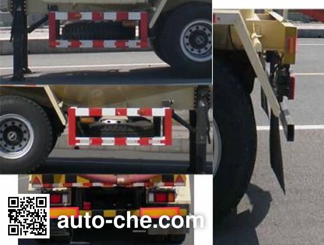 Jinwan LXQ9405GFL medium density bulk powder transport trailer