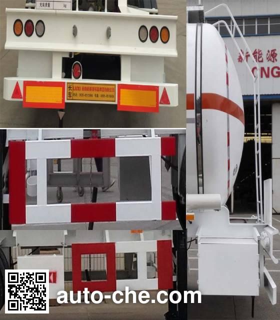 Luxi LXZ9401GRY flammable liquid tank trailer
