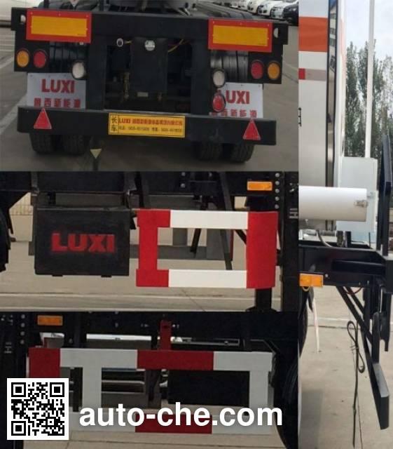 Luxi LXZ9402GRY flammable liquid tank trailer