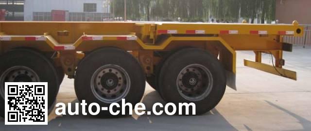 粱锋牌LYL9402TJZ集装箱运输半挂车