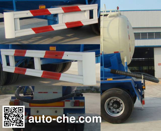 Ruitu LYT9400GFL medium density bulk powder transport trailer
