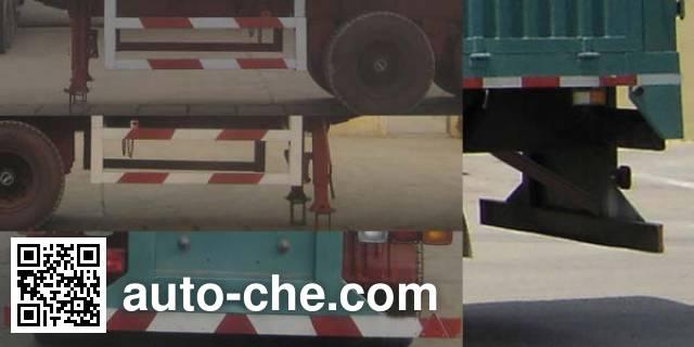 瑞图牌LYT9400XXY厢式运输半挂车