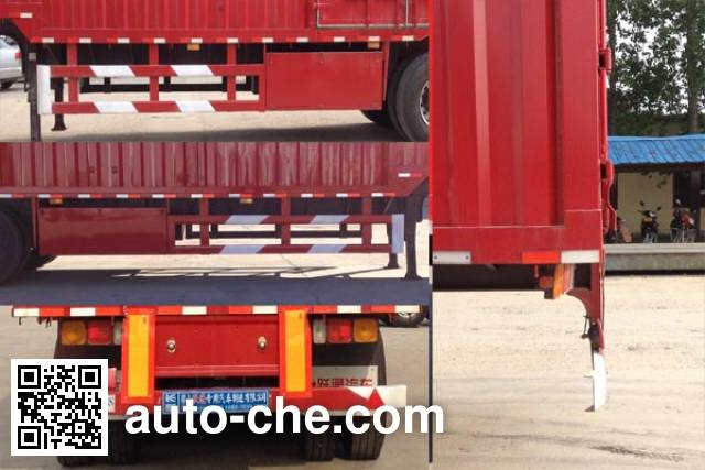 Ruitu LYT9401XXY box body van trailer