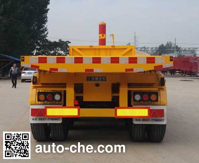 Ruitu LYT9404ZZXP flatbed dump trailer