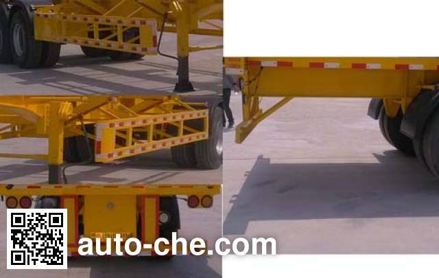 Juyun LYZ9350TJZ container transport trailer