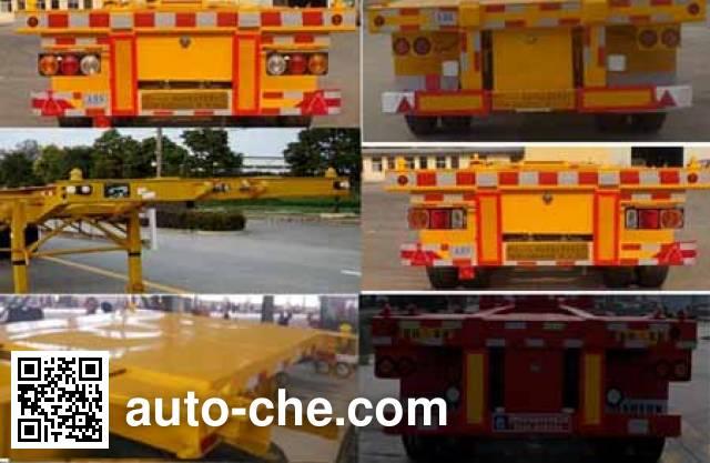 Juyun LYZ9351TJZ container transport trailer
