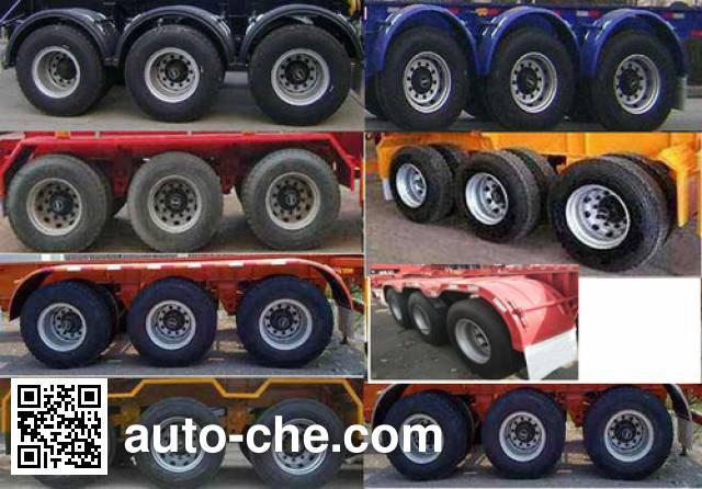 Juyun LYZ9400TJZ container transport trailer
