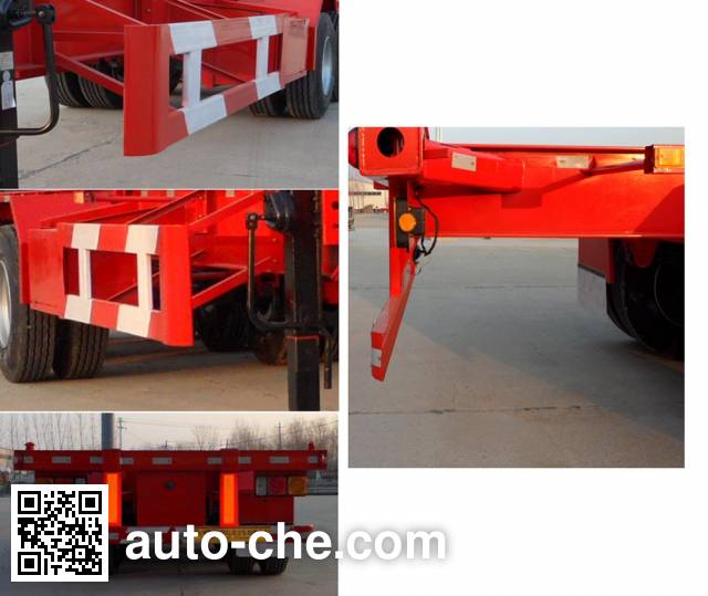 Juyun LYZ9401TJZ container transport trailer