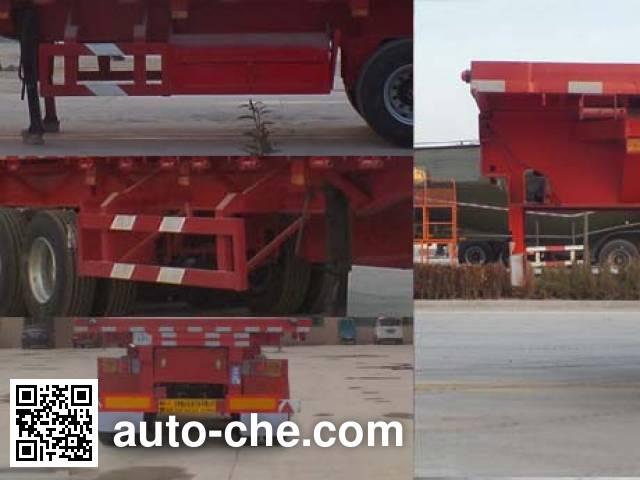 Juyun LYZ9403ZZXP flatbed dump trailer