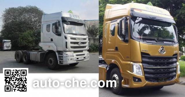 Chenglong LZ4253M7DA dangerous goods transport tractor unit