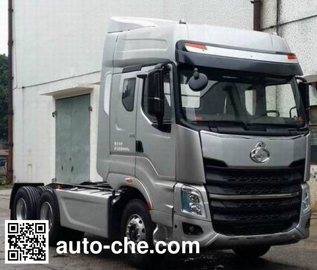 Chenglong LZ4254M7DA container carrier vehicle