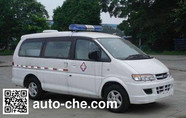 Dongfeng LZ5029XXJAQ7EN blood plasma transport medical car