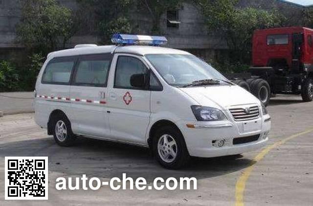 Dongfeng LZ5031XXJAQAS blood plasma transport medical car