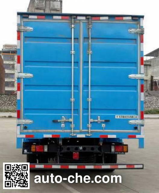 Chenglong LZ5092XXYL3AB box van truck