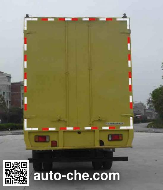 Chenglong LZ5120XXYRAPA box van truck
