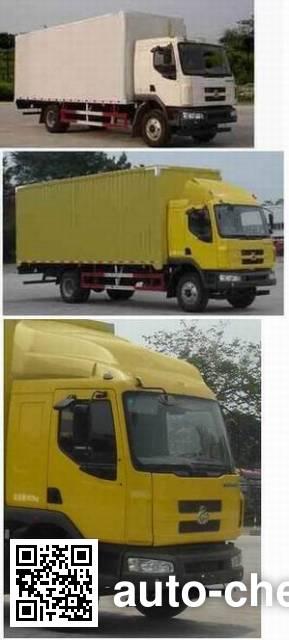 Chenglong LZ5121XXYM3AA box van truck