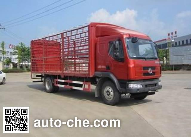 乘龙牌LZ5160CCQM3AA畜禽运输车
