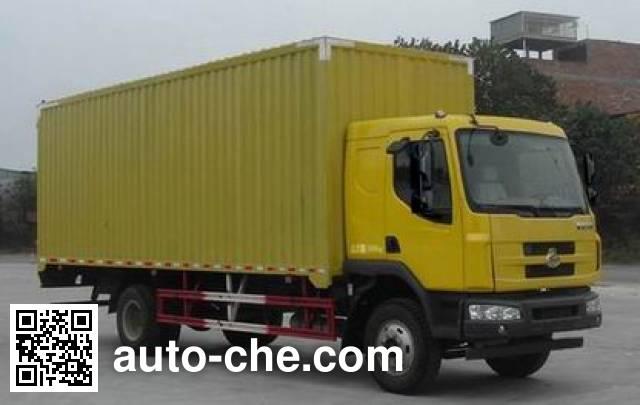 Chenglong LZ5160XXYM3AA box van truck