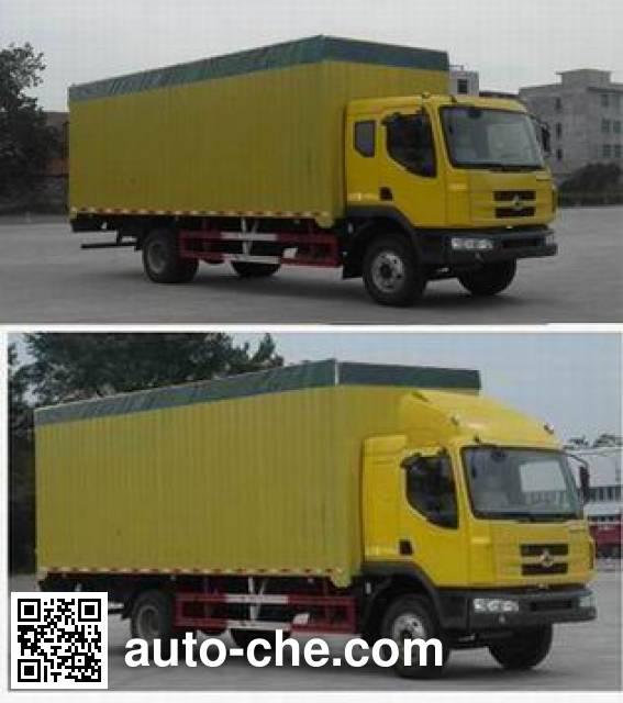 Chenglong LZ5161CPYM3AA soft top box van truck
