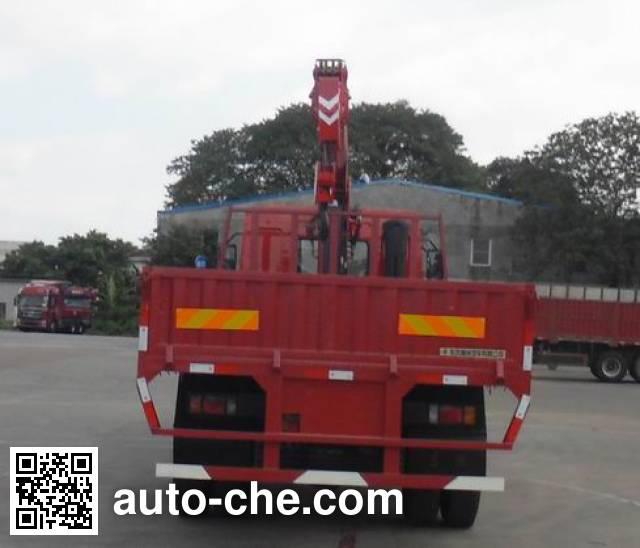 Chenglong LZ5163JSQM3AB truck mounted loader crane