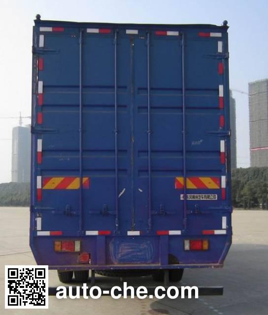 Chenglong LZ5163XXYM3AB box van truck
