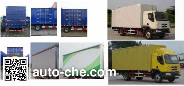 Chenglong LZ5121XXYM3AB box van truck