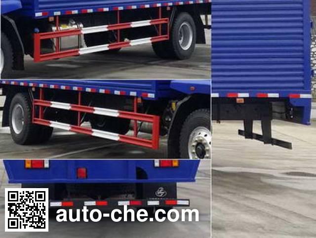 Chenglong LZ5165XXYM3AA1 box van truck