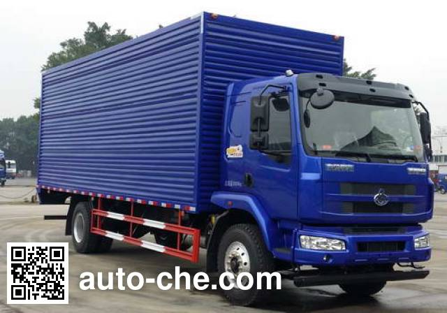 Chenglong LZ5185XXYM3AB box van truck