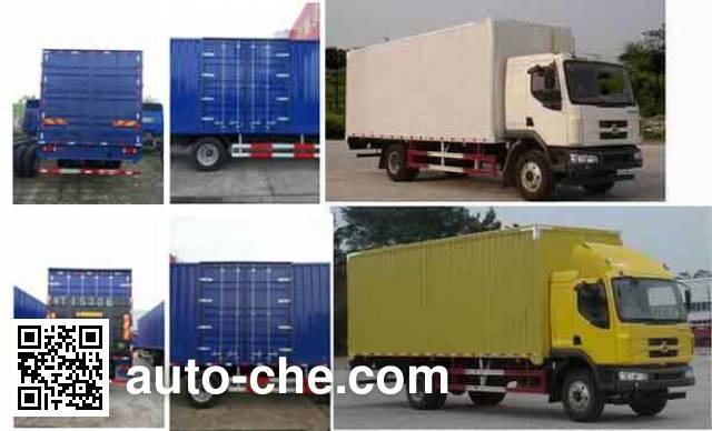 Chenglong LZ5165XXYM3AB box van truck