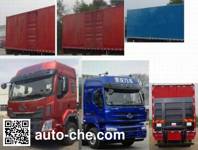 Chenglong LZ5180XXYM5AB box van truck
