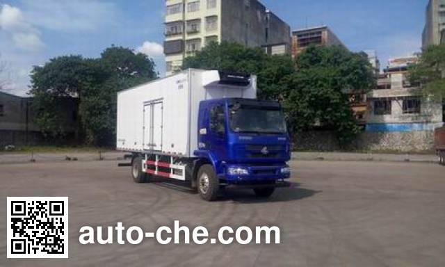 Chenglong LZ5182XLCM3AB refrigerated truck