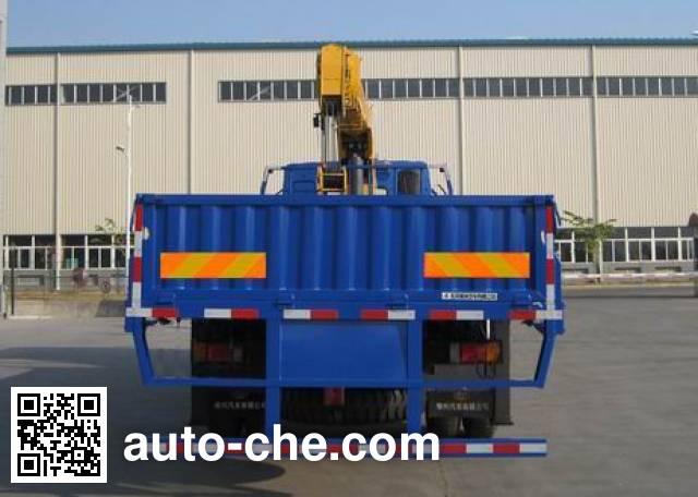 Chenglong LZ5250JSQM3CB truck mounted loader crane