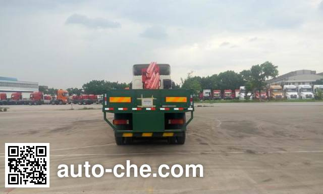 Chenglong LZ5310JSQH7FB truck mounted loader crane