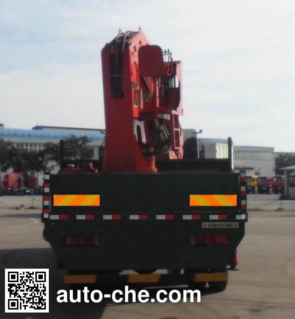 Chenglong LZ5310JSQM5FB truck mounted loader crane