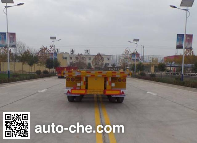 Luxuda LZC9400TJZ container transport trailer