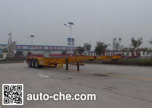Luxuda LZC9400TJZE container transport trailer
