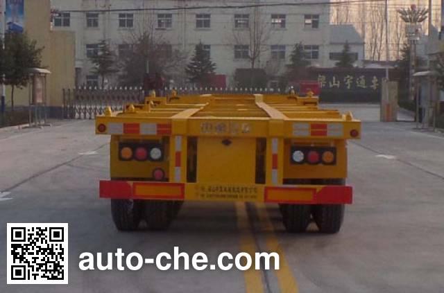 Luxuda LZC9401TJZE container transport trailer