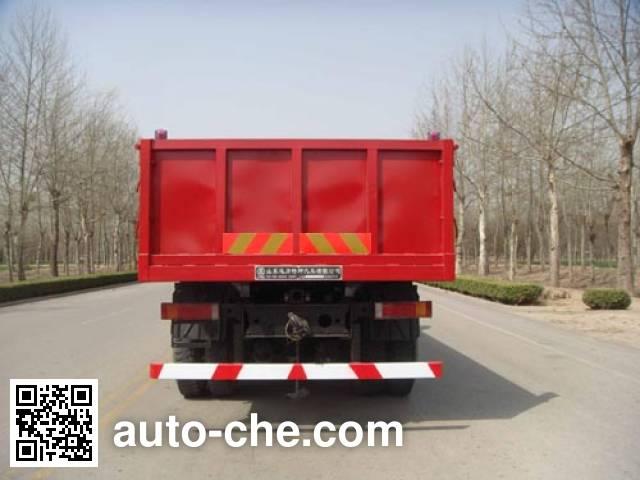 迅力牌LZQ3200ZZF40J自卸汽车
