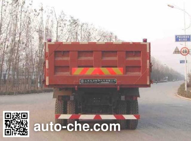迅力牌LZQ3311ZSQ47B自卸汽车
