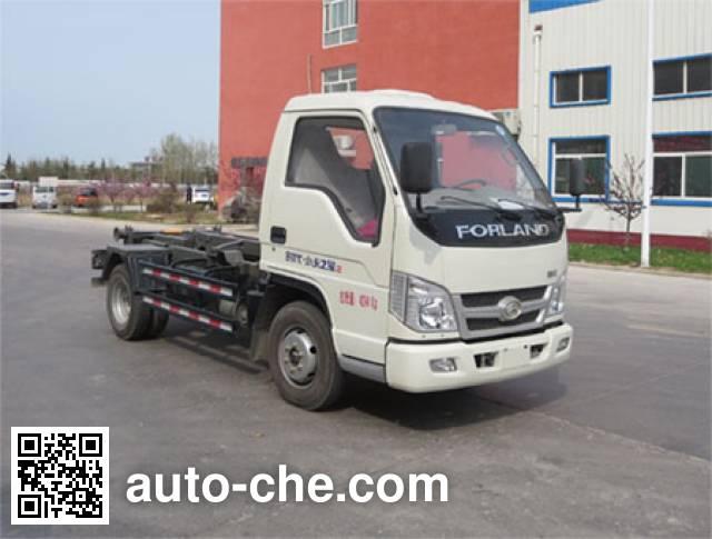 Xunli LZQ5040ZXX26B detachable body garbage truck