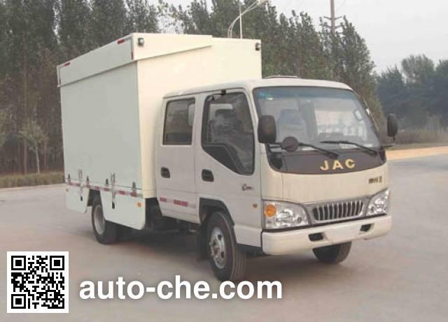 Xunli LZQ5041XWT mobile stage van truck