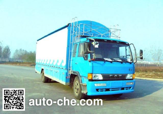 Xunli LZQ5120XWT mobile stage van truck